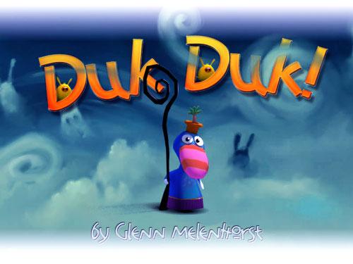 Videojuego Duk Duk hecho con Blender