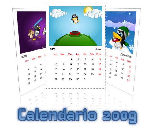 Descargar calendario linuxero 2009
