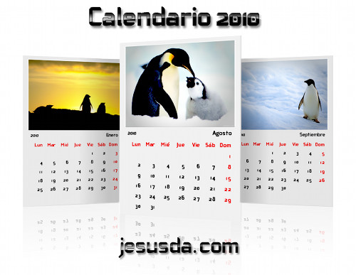 Descargar calendario linuxero 2010