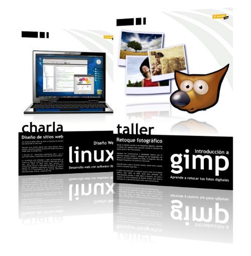 Conferencia Diseño Web con GNU/Linux y Taller de Gimp