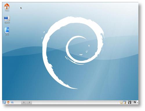El acabado estético de Debian ha mejorado mucho