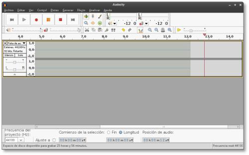Capturar el sonido de nuestro ordenador con Audacity