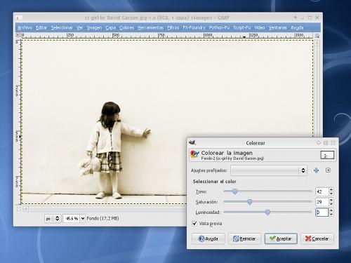 Cómo convertir a tonos sepia nuestras fotos con Gimp by jEsuSdA 8)
