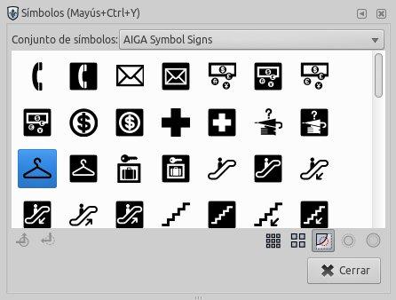 Librería de Simbolos - inkscape 0.91