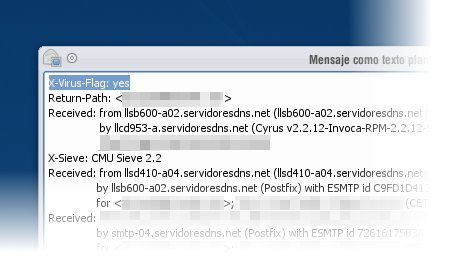KMail - Test Antivirus EICAR