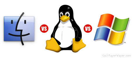Gnu Linux Vs. Windows Vs. MacOs