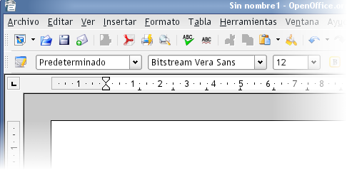 OpenOffice.org con iconos SVG Crystal