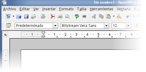 OpenOffice.org con iconos SVG Crystal