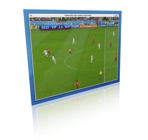 TvTime en Linux viendo la Eurocopa Gratis