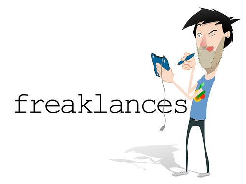 Serie de dibujos Freaklances