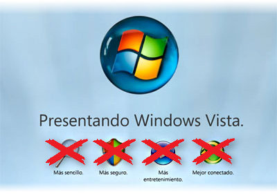 Windows Vista INSEGURO