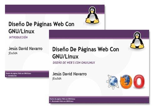 Materiales de la conferencia Diseño de páginas web con GNU/Linux