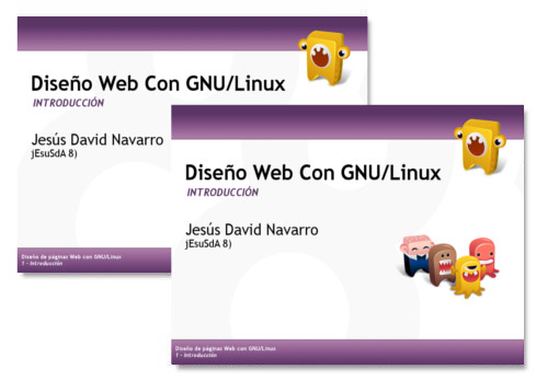 Conferencia Diseño Web con GNU/Linux