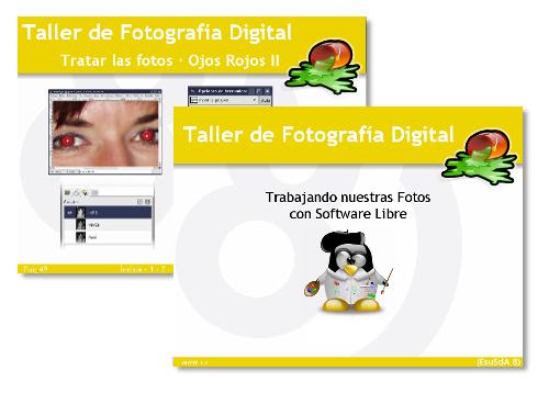 Materiales del taller de Fotografía digital con Software Libre