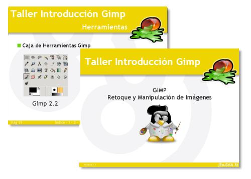 Materiales del taller de Introducción a Gimp