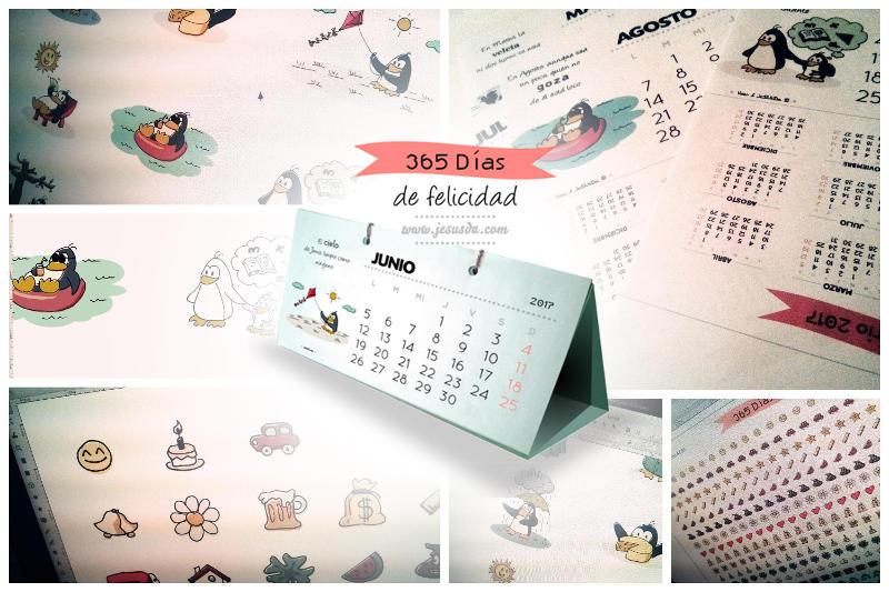 Calendario Pingüino 2017