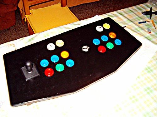Colocamos los botones y los mandos
